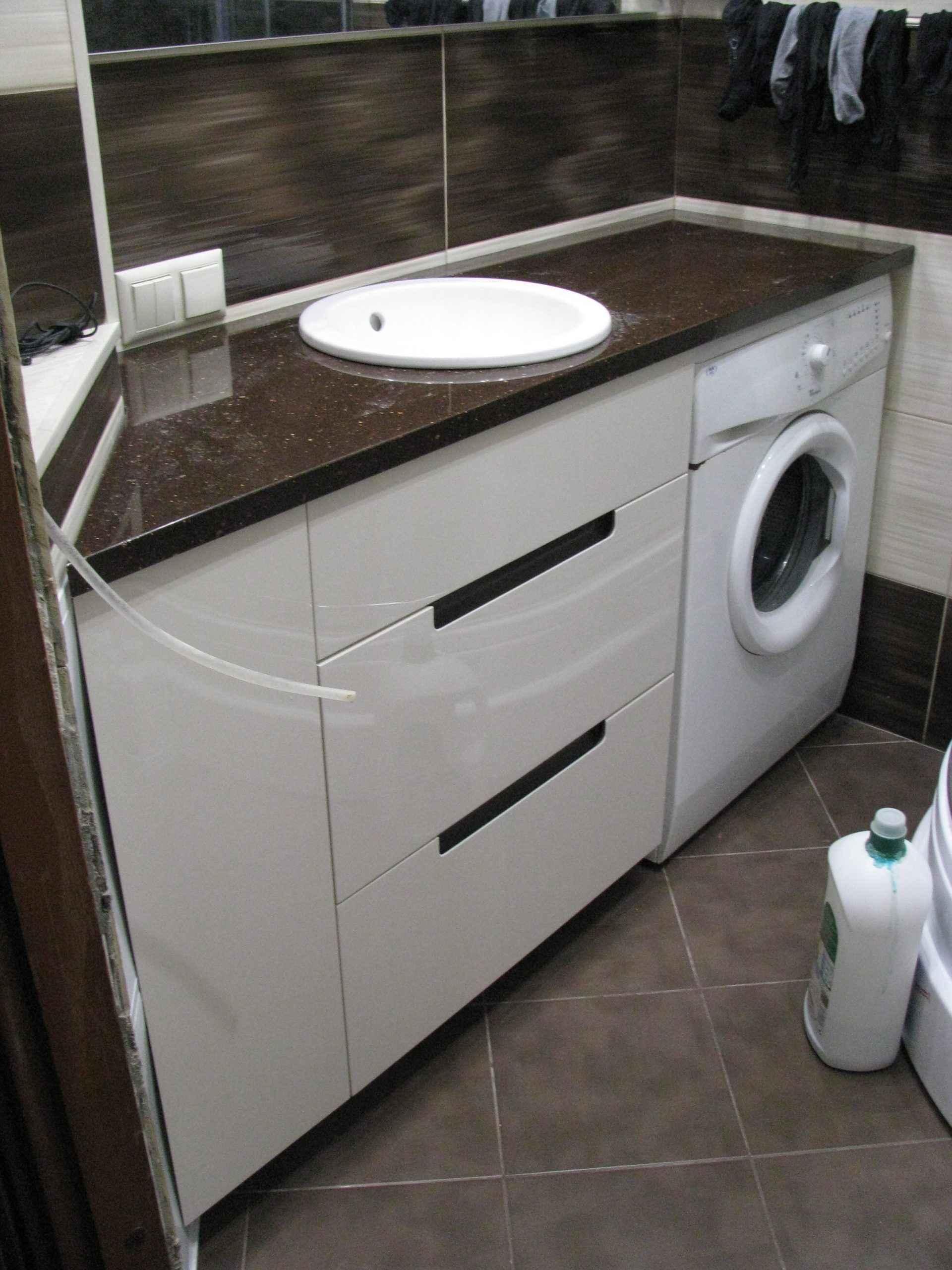 Тумба під пральну машину